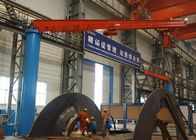 Free Standing Jib Crane With Slewing Cantilever Arm / Limit Switch Available