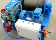 Wire Rope 34m/min Industrial Electric Winch For Construction Material