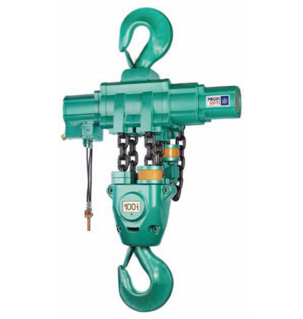 Compact Air Chain Hoist 16 Ton 0.7-1.2m/Min Lifting Speed Easy Operation