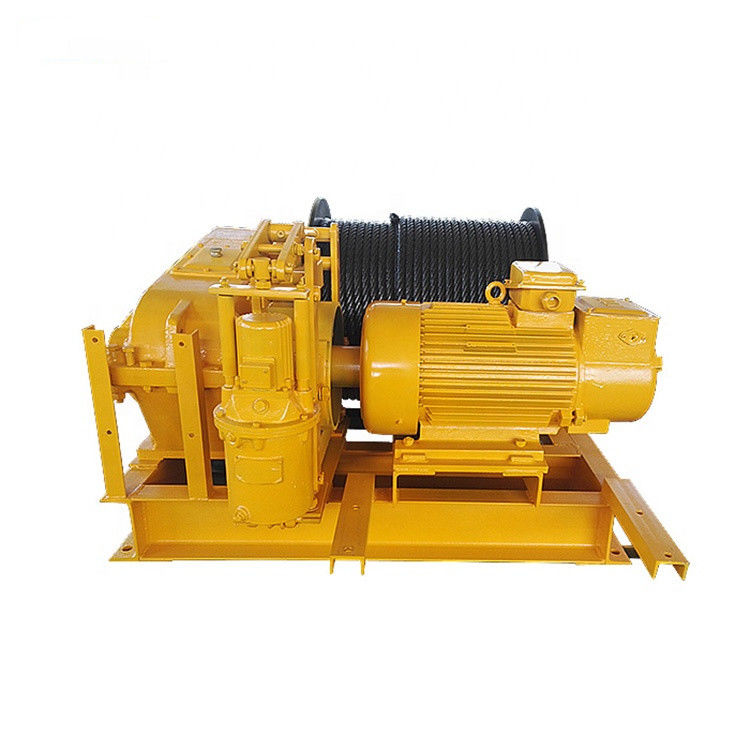 High Stability Industrial Electric Power Winch  1 - 15 Ton For Mines Engineering
