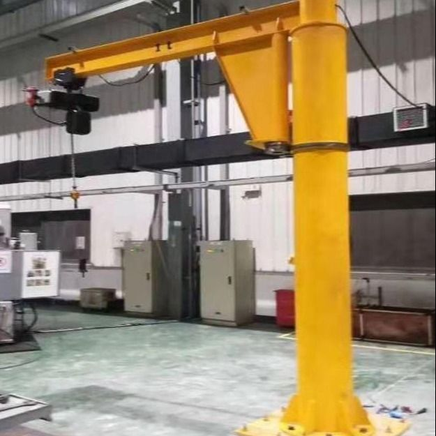 High Working Efficiency 7.5 Ton Cantilever Jib Crane Lifting Height 5m
