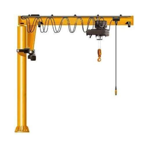 180 Degree Rotating 2.5T Swing Jib Crane Lifting Speed 5.6m/Min CE Certificate